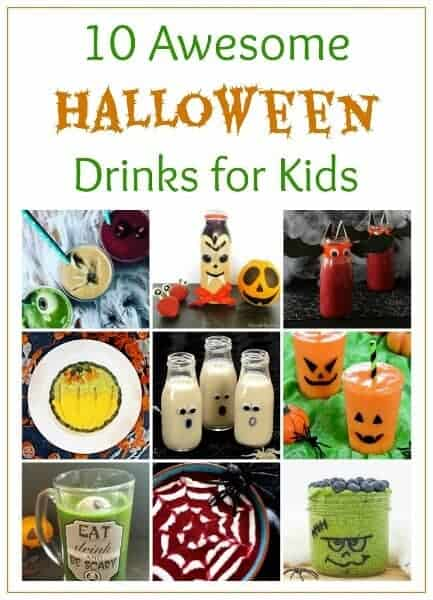 10 Fun and healthy Halloween Drinks for Children - Fun themed Smoothies Milkshakes and Smoothie Bowls that kids will love #EatsAmazing #halloween #halloweenfun #halloweenfood #drinkrecipe #kids #easyrecipes #healthykids #healthyhalloween