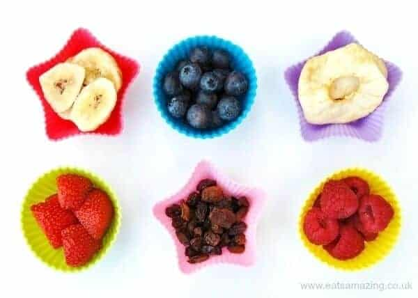 75 Finger food ideas for todlers - fruits and dried fruits - Eats Amazing UK