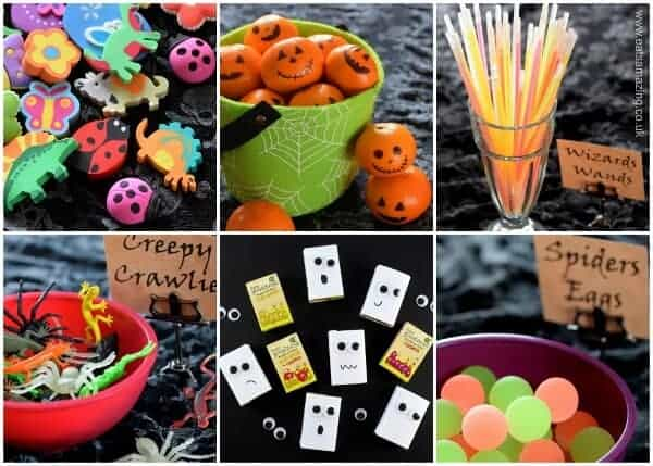 Alternative Trick or Treat Ideas - fun and healthy ideas without all the sugar from Eats Amazing UK