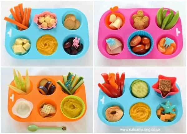 Easy toddler muffin tin meals - healthy food ideas for kids from Eats Amazing UK