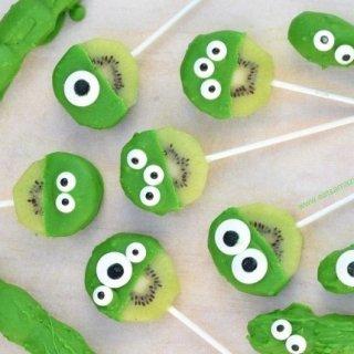 Green Monster Fruit Pops Recipe