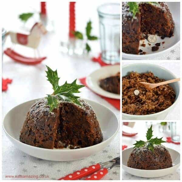 How to make a traditional Christmas pudding - my Grans recipe - Eats Amazing UK