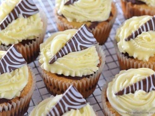 Easy Zebra Cupcakes