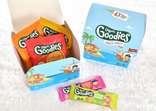 New fun snack chests from Organix - Eats Amazing UK
