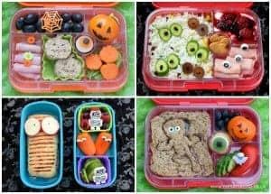 Fun Halloween Bento Lunches – Week 1