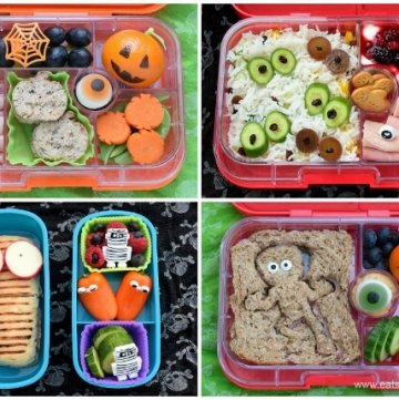 Fun Halloween Bento Lunches – Week 1