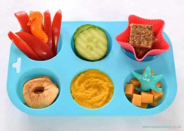 4 simple muffin tin meals for toddlers eats amazing simple toddler muffin tin meal ideas with a list of over 80 finger food ideas forumfinder Images