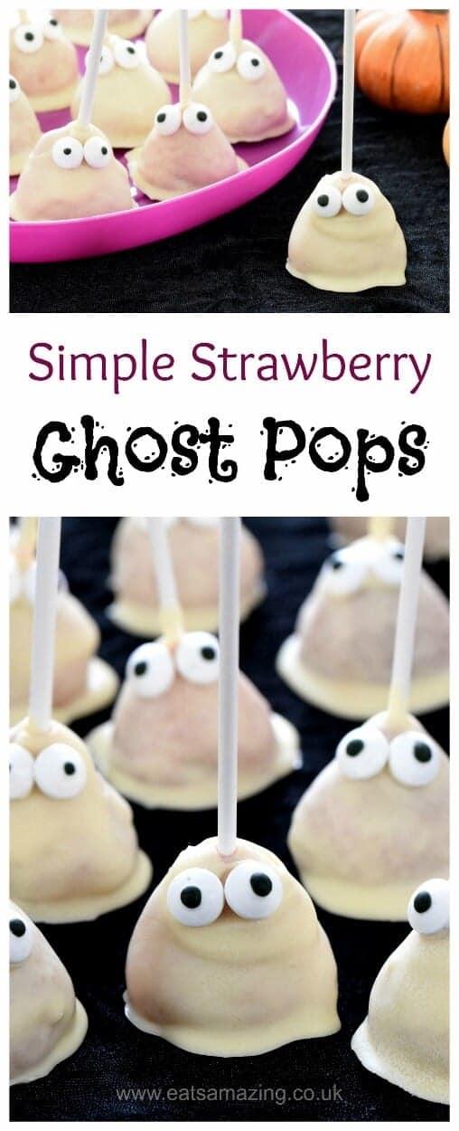 Easy Ghost Cake Pops