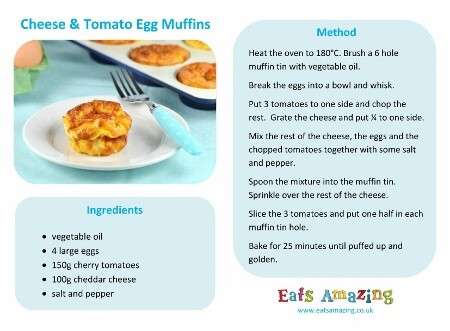 Cheese and Tomato Egg Muffins