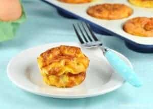 Cheese & Tomato Omelette Muffins