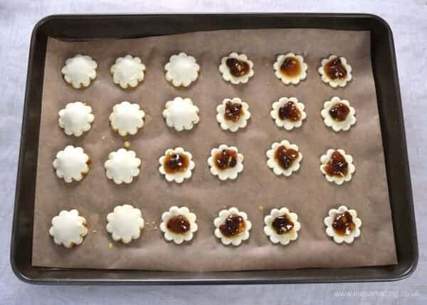 Bite sized mini mince pie puffs - easy cheats recipe for puff pastry mince pies - fun for Christmas party food and snacks - Eats Amazing UK - Step 2