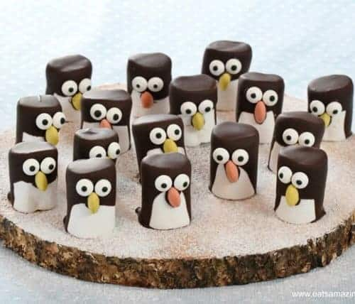Marshmallow Penguins Fun Food Tutorial Eats Amazing