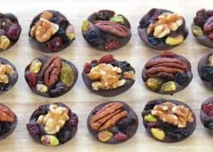 Easy Fruit & Nut Chocolate Buttons Recipe