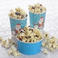 Eats Amazing Advent Calendar Day 17 - White Chocolate Cranberry Popcorn
