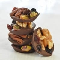 Eats Amazing Advent Calendar Day 2 - Fruit and Nut Chocolate Buttons