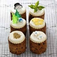 Eats Amazing Advent Calendar Day 6 - Mini tin can Christmas cakes recipe