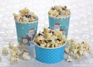 White Chocolate Cranberry Popcorn Recipe
