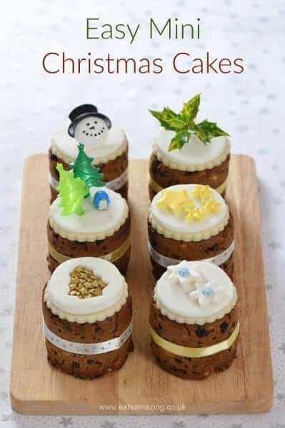 Tin Can Mini Christmas Cakes Eats Amazing