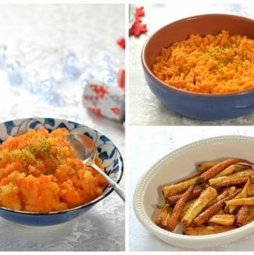 Tips for feeding babies and toddlers at Christmas - 3 baby friendly side dish recipes