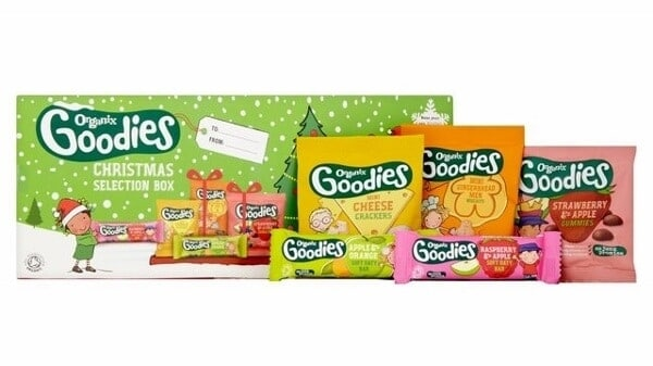 Tips for feeding babies and toddlers at Christmas - Organix Christmas Selection Box