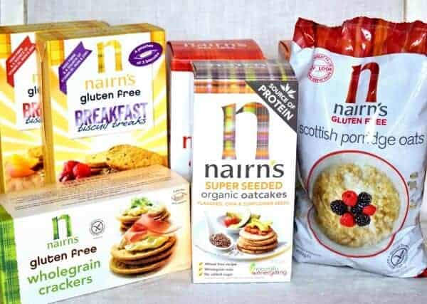 Nairns oatcakes crackers porridge oats and breakfast breaks