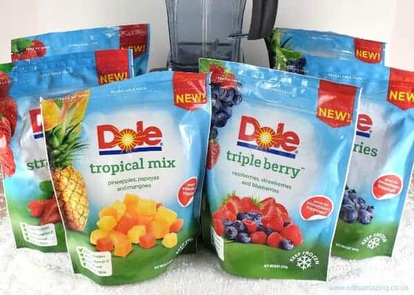 dole frozen fruit healthy smoothies with frozen fruit