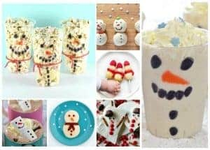 12 Snowman Themed Fun Food Ideas for Kids