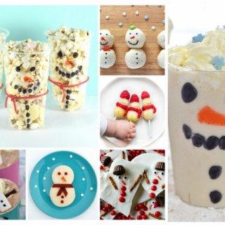 12 Snowman Themed Fun Food Ideas for Kids