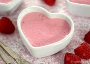 Simple Raspberry Yogurt Mousse Pots Recipe