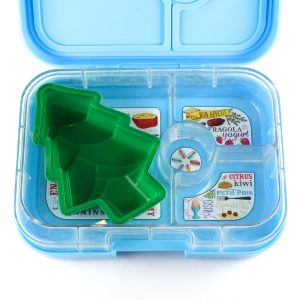Christmas Silicone Mould in the Yumbox bento box from the Eats Amazing UK Shop - Christmas Tree