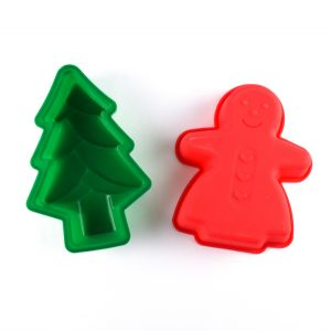 Christmas Silicone Moulds from the Eats Amazing UK Shop