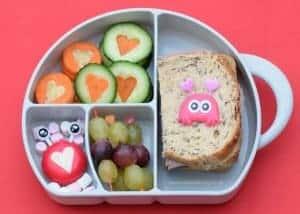 Happy Valentines Day Bento Lunch