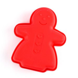 Gingerbread Lady Silicone Mould from the Eats Amazing UK Shop
