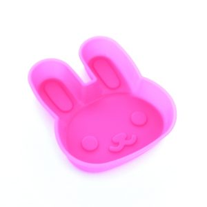 Pink Bunny Rabbit Silicone Mould from the Eats Amazing UK Shop