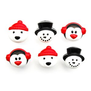 Arctic friends Christmas cupcake rings from the Eats Amazing UK Shop