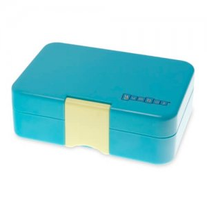 Cannes Blue Yumbox Mini Snack Box - Leakproof Snack Box for Waste Free Lunches from the Eats Amazing UK Bento Shop
