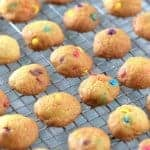 Cute food for kids - How to make mini rainbow cookies - easy recipe for kids - Eats Amazing UK
