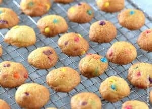 Teeny Tiny Mini Rainbow Cookies Recipe