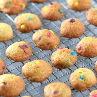 Teeny Tiny Mini Rainbow Cookies Recipe