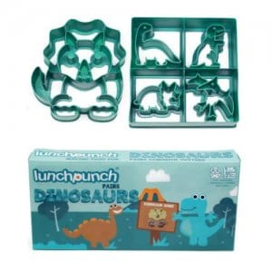 Lunch Punch Sandwich Cutters Set of 2 - Dinosaurs -from the Eats Amazing UK Bento Shop - making healthy food fun for kids