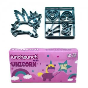 Lunch Punch Sandwich Cutters Set of 2 - Unicorn - from the Eats Amazing UK Bento Shop - making healthy food fun for kids