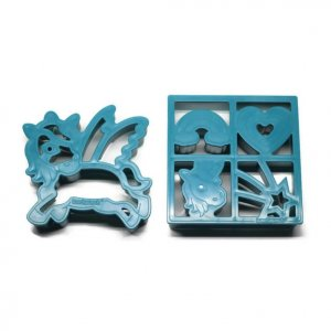 Lunch Punch Unicorn Sandwich Cutters Set of 2 - Eats Amazing UK Bento Shop - cute healthy food for kids - fun lunch box and party food ideas
