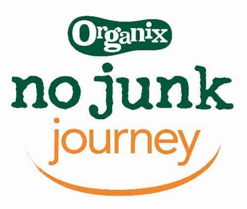 Organix No Junk Journey Logo