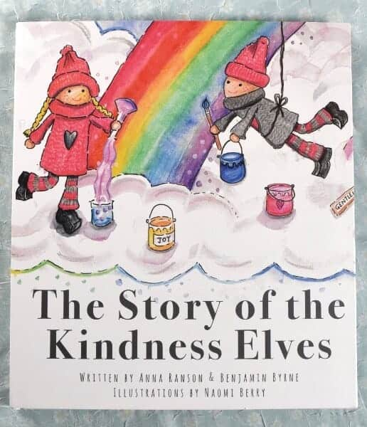 The Story of the Kindness Elves - book review and fun rainbow cookies recipe from Eats Amazing UK