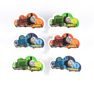 Thomas the tank engine train cupcake rings from the Eats Amazing UK Shop