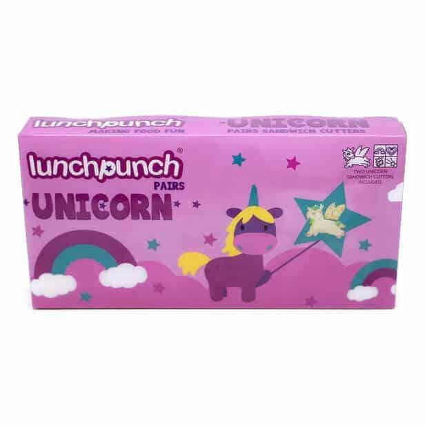 Lunch Punch Original Unicorn Sandwich Cutters - Set of 2
