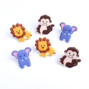 Zoo animal cupcake picks from the Eats Amazing UK Shop