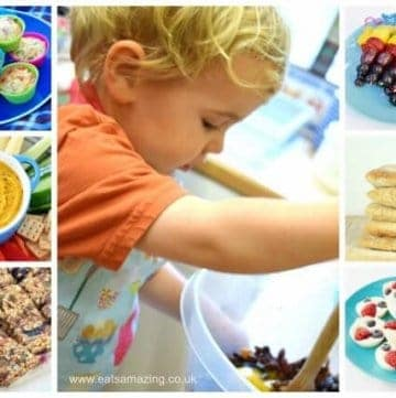 22 Top tips for cooking with toddlers and 50 easy healthy recipes to cook with younged kids - Eats Amazing UK