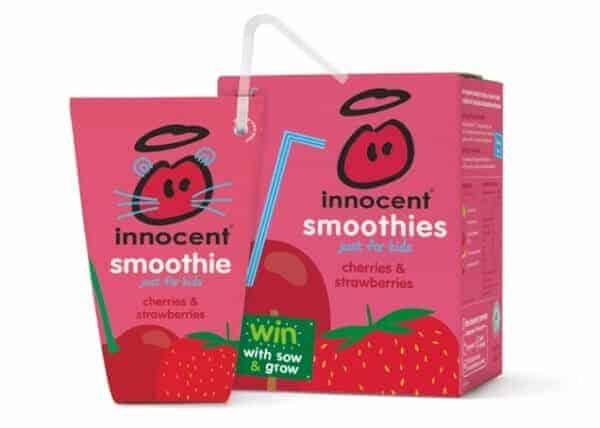 Innocent smoothis - sponsors of the sow and grow campaign