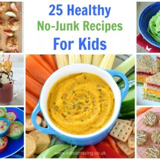 25 No-Junk Healthy Recipes for Toddlers